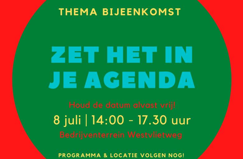 THEMA-BIJEENKOMST 8 JULI 2021 (voor ondernemers bedrijventerrein Westvlietweg)
