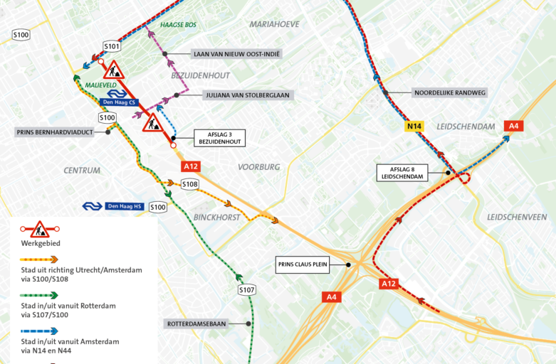 Utrechtsebaan (12) werkzaamheden